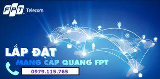 Lắp Đặt Cáp Quang FPT