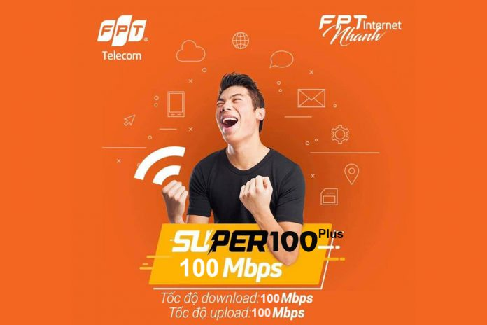 Gói internet Super 100 Plus FPT Telecom