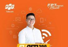 Gói internet Super 200 FPT Telecom