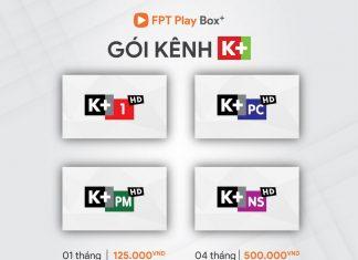 Danh sách kênh truyền hình trên fpt play box