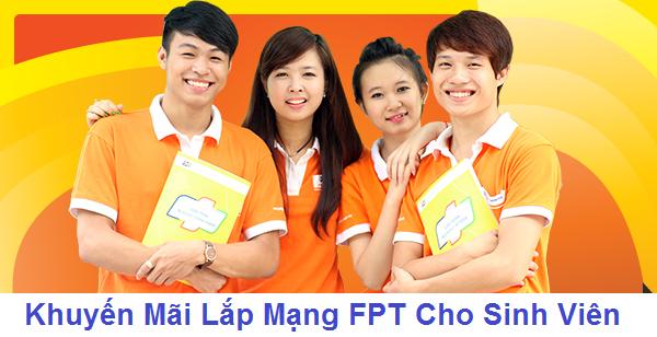 Lắp đặt internet wifi FPT Telecom cho sinh viên