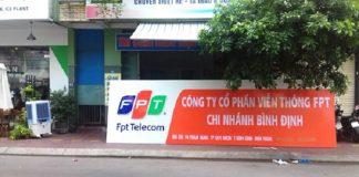Lắp internet FPT Bình Định