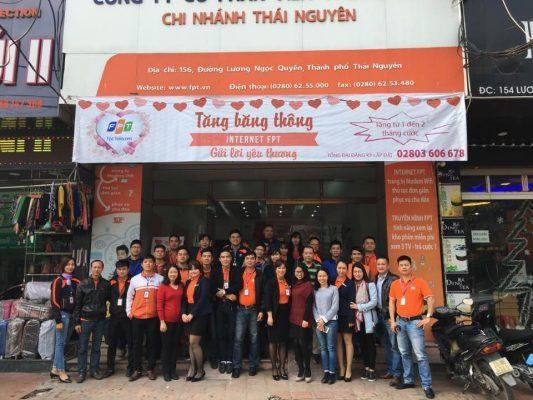 Lắp Mạng FPT Thái Nguyên