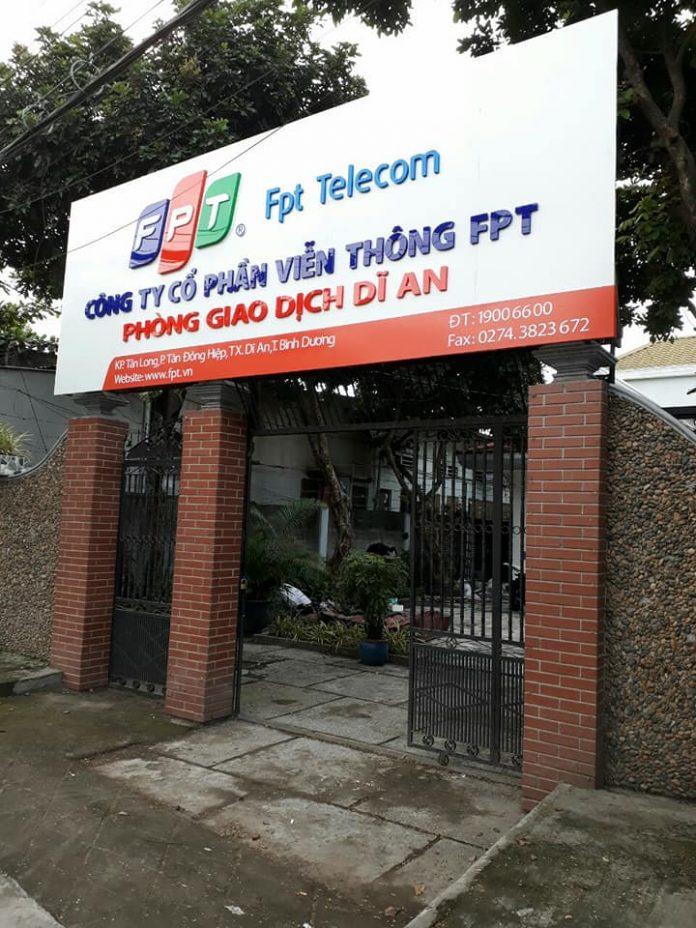 internet FPT Dĩ An, Bình Dương