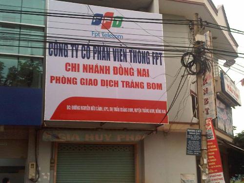 internet FPT Trảng Bom, Đồng Nai