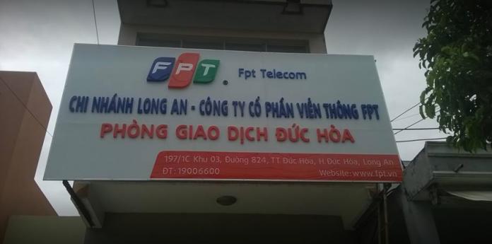 internet FPT Huyện Đức Hoà, Long An