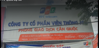 internet FPT Huyện Cần Giuộc, Long An