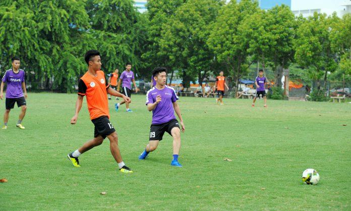 FPT Telecom Huế tranh tài bóng đá mừng sinh nhật