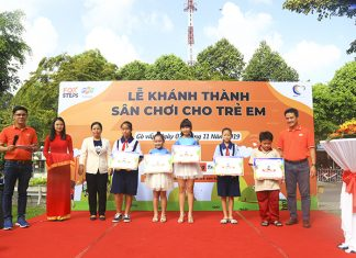 FPT Telecom Sài Gòn khánh thành sân chơi thiếu nhi