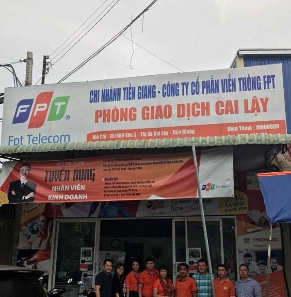 internet FPT huyện Cai Lậy, Tiền Giang