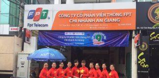Internet FPT Thành phố Long Xuyên, An Giang
