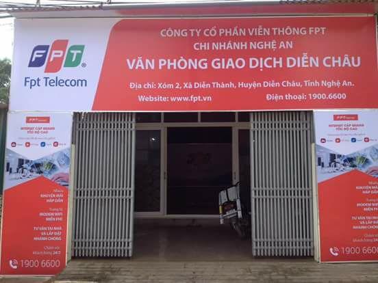 Internet FPT Huyện Diễn Châu, Nghệ An