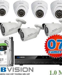 Lắp đặt 7 camera FPT HD