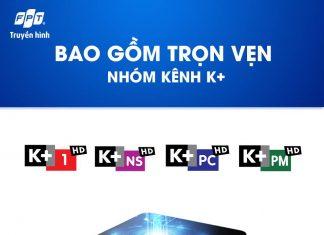Đăng Ký Gói K+ HD TrênTruyền hình FPT