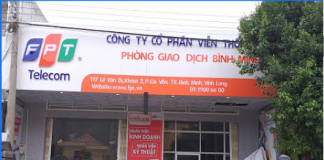 interner FPT thị xã Bình Minh, Vĩnh Long