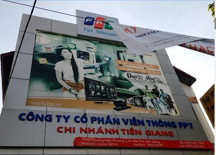 internet FPT thành phố Mỹ Tho, Tiền Giang