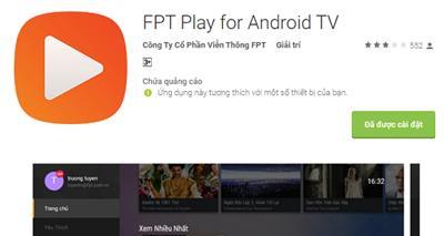 Hướng dẫn đăng nhập và kích hoạt ứng dụng FPT Play trên Android TV Box
