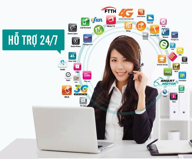 Số Tổng Đài mạng Viettel Thuận An