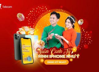 Xuân Canh Tý Rinh Iphone Như Ý Cùng Internet FPT