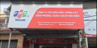 Lắp đặt mạng FPT Huyện Hải Hậu